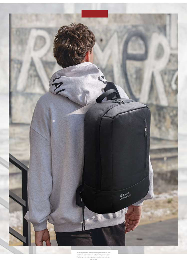waterproof material backpack